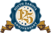 South Dakota 125 Years Seal